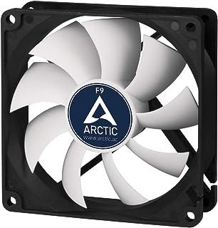 Arctic Cooling ARCTIC F9 - Ventilador para Caja de Ordenador, Negro, 92 mm