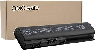OMCreate Battery Compatible with HP CQ61 CQ40 CQ45 CQ50 CQ60 CQ70, G60 G50 G61 G71, G60-235DX G60-230US G60-120US G71-340US CQ60-615DX, Fits P/N EV06 498482-001 484171-001 497694-001 497694-001