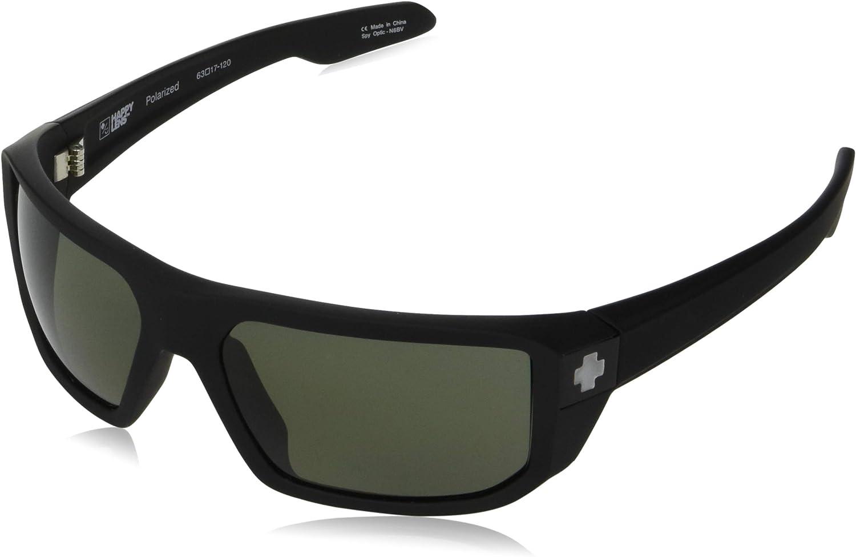 Spy Optic Men's Mccoy Rectangular Sunglasses, 63 mm
