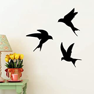 Art Street Birds Shape MDF Plaque Painted Cutout Ready to Hang Home Décor, Wall Décor, Wall Art,Decorative MDF Plaque for ...