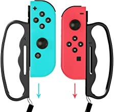 Grips for Nintendo Switch Fitness Boxing, Handles for Switch Boxing - 2 Packs (Black)