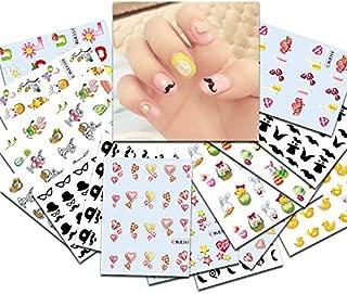 KADS 33pcs/set Nail Transfer Decals Cute Pig&Chicken&Rabbits Image Nail Art Water Stickers Beauty Nail Decorations Tool