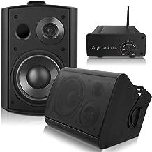 outdoor speakers and amplifier