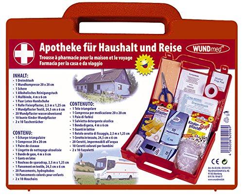 WUNDmed Haushaltsapotheke - Reiseapotheke