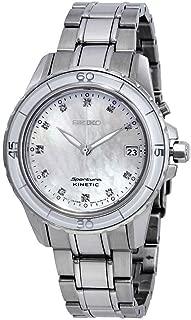Sportura Kinetic Mother Of Pearl Diamond Women's Watch