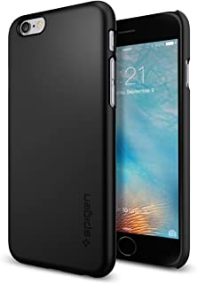 iPhone 6s Case, Spigen [Thin Fit] Exact-Fit [Black] Premium Matte Finish Hard Case for iPhone 6s (2015) / iPhone 6 (2014) - Black (SGP11592)