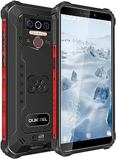 OUKITEL WP5 スマホ 耐衝撃 SIMフリー スマートフォン本体 Android 10 IP68/IP69K 防水 防塵 耐衝撃 アウトドア スマートフォン 4GB RAM + 32GB ROM 8000mAh 5.5インチ 指紋認識 ...