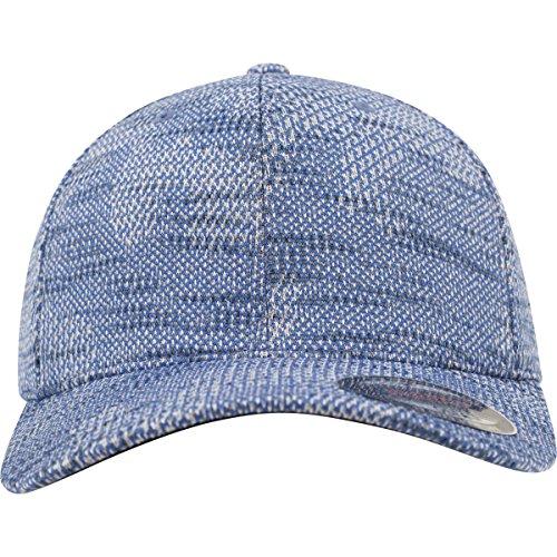 Flexfit Jacquard Knit Caps, Blue, L/XL