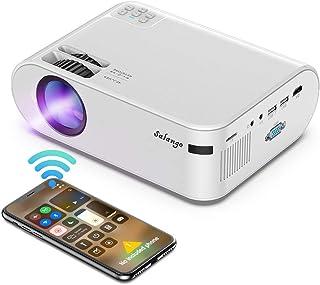 Mini Proyector Portatil para Celular - Salange Led hd Proyectors Wifi con 6500 Lux, 720P nativo, Soporte Zoom X-Y y Dolby ...