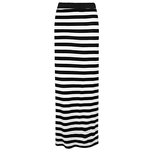world-wide renown incredible prices footwear Striped Maxi Skirt: Amazon.co.uk