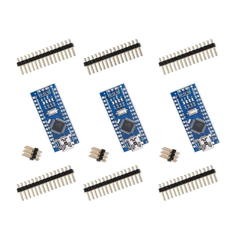 フルーツ私たちの欺くMoligh doll Arduino Nano V3.0 Nanoボード用 CH340 / ATmega328P(3組)