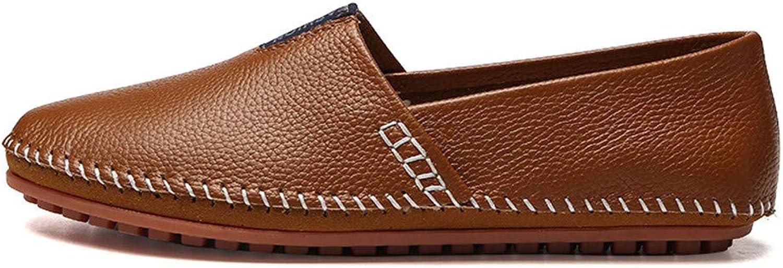 Herren Lederschuhe Casual Slip on Schuhe Mokassins Handmade