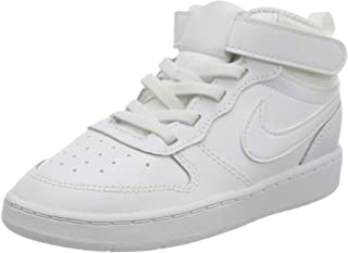 Nike Court Borough Mid 2 (TDV), Basket Mixte bébé