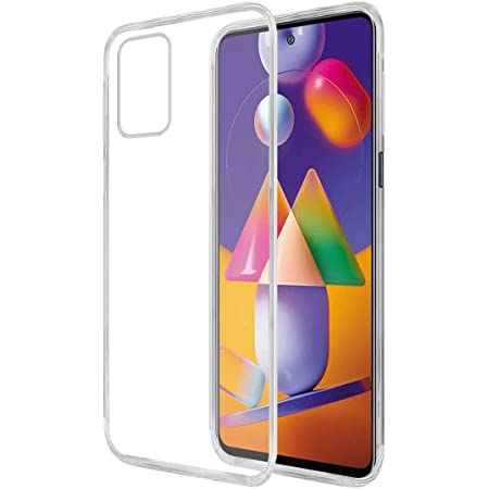 Amazon Brand - Solimo Back Case for Samsung Galaxy M31s (Flexible Transparent)