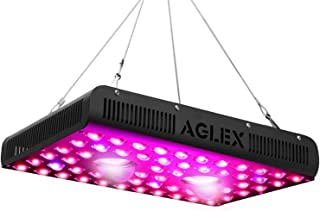 AGLEX 1200W COB LED Grow Light, Full Spectrum UV IR Reflector Series Plant Grow Lamp, with Daisy Chain, Veg and Bloom Switch, for Hydroponic Greenhouse Indoor Plant Veg and Flower