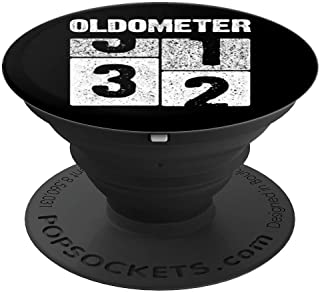 Oldometer 32 T-Shirt 32nd Birthday Gift Born in 1987 PopSockets Grip and Stand for Phones and Tablets