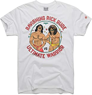 WWE Rick Rude v. Ultimate Warrior WM5 Homage T-Shirt