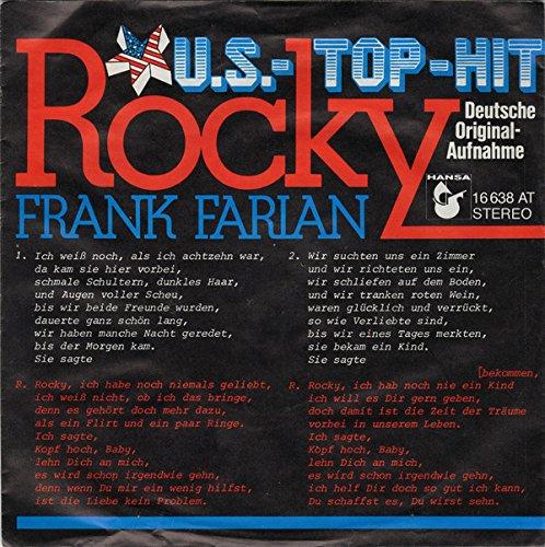 Frank Farian - Rocky - Hansa - 16 638 AT