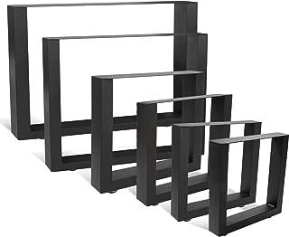 wolketon 2x Patas de Mesa 80x72cm patas para mueble de estil
