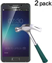 TANTEK Bubble Free Tempered Glass Screen Protector for Samsung Galaxy Note 5, 2 Pack