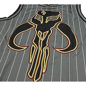 Star Wars Men's Boba Fett Sports Jersey Tank, Gray, Medium