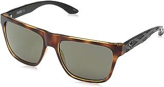 Puma Men's PU0008S PU0008S-003 57 Wayfarer Sunglasses, Brown, 57 mm