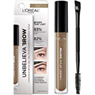 L'Oreal Paris Unbelieva-Brow Tinted Brow Makeup, Longwear, Waterproof Brow Gel, Sweat Resistant,...