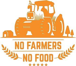 No farmers No food vinyl car decal