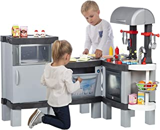 Chicos Cooking XL. Gran Modular Infantil con Efecto de Cocina Real: Los Alimentos cambian de Colo...