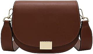 Female Small Saddle Bag Crossbody Bags For Women 2019 Solid Color Messenger Bag Ladies Travel Handbags