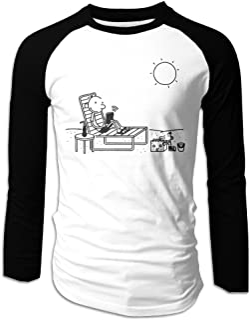 Mens Diary Of A Wimpy Kid Logo Long Sleeve Raglan Baseball Tshirt