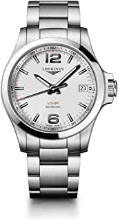 [ロンジン] 腕時計 コンクエスト V.H.P. クォーツ パーペチュアルカレンダー L3.716.4.76.6 メンズ 正規輸入品 シルバー