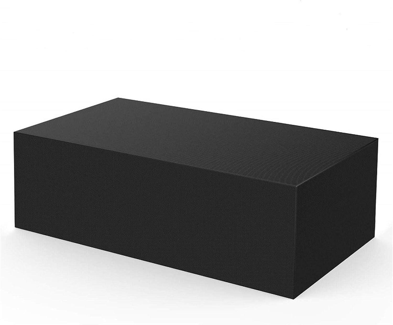 BEDSETS Cubierta De Muebles De Jardín Funda Protectora para Muebles Impermeable Anti-UV 420D Oxford Protección Exterior Muebles De Jardín Sofá,Mesa, Negro (120x60x90cm)