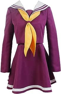 NO Game NO Life Shiro Sailor Suit Cosplay Uniform Costume