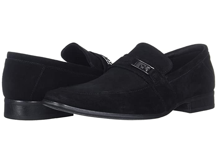 Bartley  Shoes (Black Suede) Men's Shoes