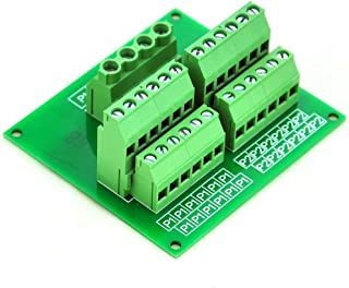 Electronics-Salon Panel Mount 12 Position Power Distribution Module Board.