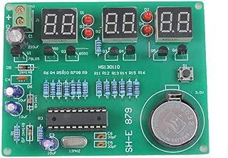 DAOKI DIY Kit Module 9V-12V AT89C2051 6 Digital LED Electronic Clock Parts Components