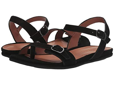 Gentle Souls by Kenneth Cole Lark Strappy Sandal (Black) Women