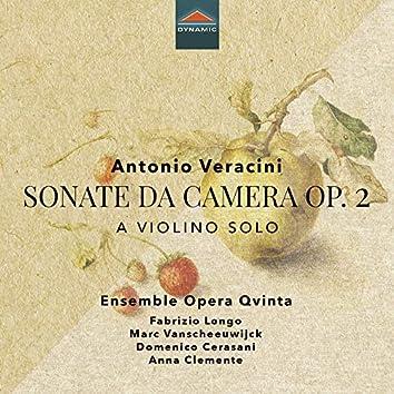 Veracini: Sonate da camera, Op. 2