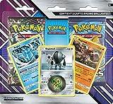 Pokemon - Soleil et Lune - Tempête Céleste - Pack 2 Boosters + 3 Cartes Promo, POBRAR11