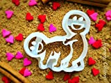 The Funny Wedding Gift Fan Cookie Cutter - Valentine Cutters by Sugary Charm - Valentine's Day Gifts for Him - 3D Cookies Dough Stamps - Cute Moldable Supplies for Kitchen