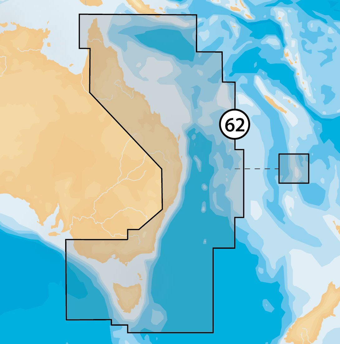 Navionics Platinum+ 62P+ AUSTRALIA EAST & NORTH Marine Charts on SD/MSD: Amazon.es: Electrónica