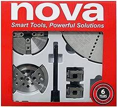NOVA 23245 Chuck and Most Popular Jaw Accessory Bundle
