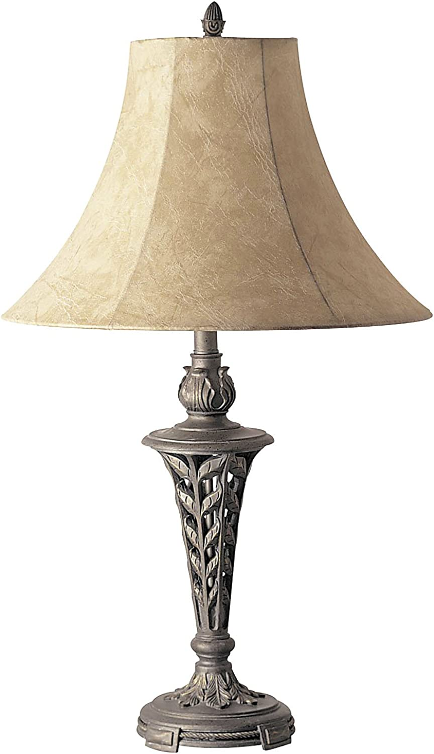 ORE International 2015?Table Lamp, Antique Brass, 31-Inch