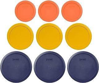 Pyrex (3) 7402-PC 6/7 kopp blå (3) 7201-PC 4 kopp smör gul (3) 7200-PC 2 kopp orange ersättning matförvaringslus