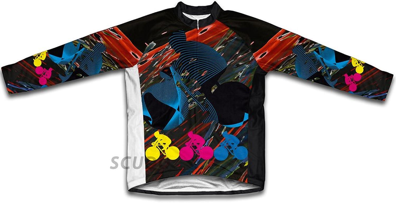 Biker Chaos Long Sleeve Cycling Jersey for Women