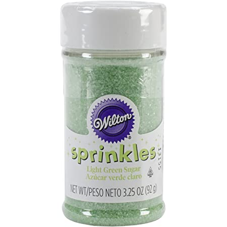 Wilton Sprinkles 3.25oz Colored Sugar Light Green