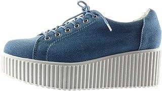 meilleur service 1854d 735d8 Amazon.fr : basket plateforme - Chaussures femme ...