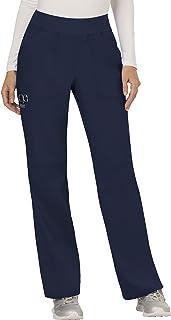 Cherokee Women's Mid Rise Straight Leg Pull-on Pant Straight (pack of 1)
