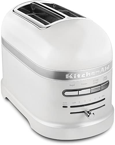 lowest KitchenAid outlet sale KMT2203FP popular Pro Line Series Frosted Pearl White 2-Slice Automatic Toaster outlet online sale